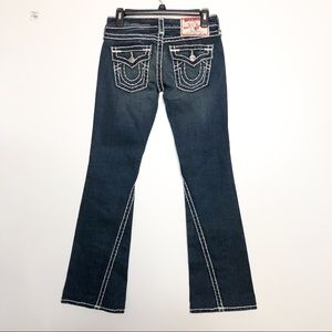 True Religion Joey Super T Bootcut Low Rise Jeans